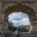Katie in the Arch of Titus